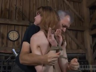 Zealous Arse Hole Whipping For Slut