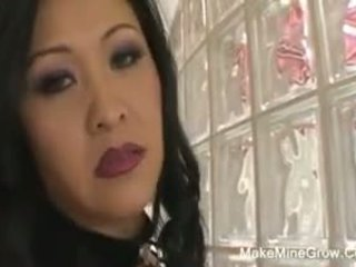 BBCs stuff a tasty asian pussy