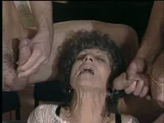 granny orgy with young girl Video