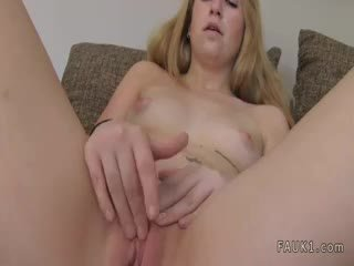 Blonde Amateur Anally Fucked On Casting
