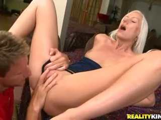Kacey Villainess Constricted Hairless Fur Pie Hammered By Thick Dick