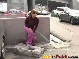 Outdoor Public Peeing