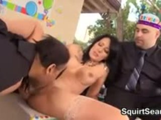 Big Black Cock For Her Gift Cuckold