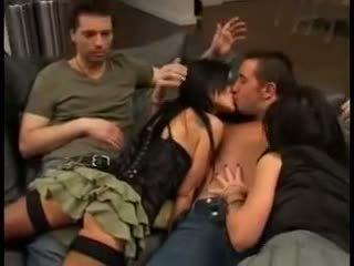 Elizabeth lawrence in pornstar threesome