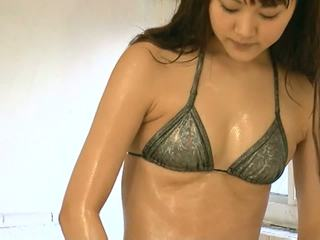 Shoko Bikini Lotion Play Wet Fetish Non-nude: Free Porn 66