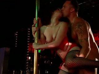 Jen White...Pole Dancing..