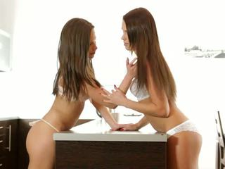 Lesbian lovers Subil Arch and Frida