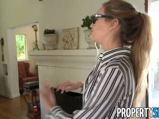Propertysex - Shady Real Estate Agent Tricks Client to