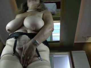 Kinky Grandma with very Big Saggy Boobs, Porn 1f
