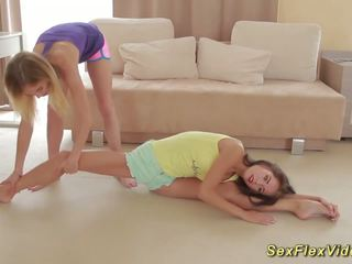 Flexible Girlfriends Stretching, Free HD Porn 36