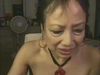 Asian Granny Camshow: Free Webcam Porn Video