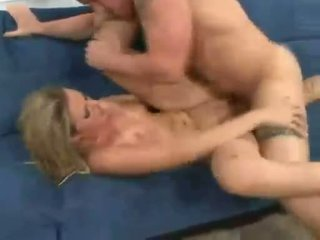 Pumped deep and hard with thumpping cock Bree Barrett loves every inch