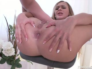 Hardcore anal pounding with the beautiful Ariel Temple