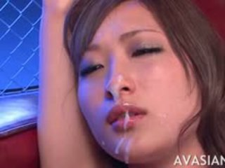 Dirty Asian Whore Tied Up And Facial Cumshot