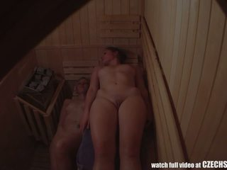 Voyeur Two Tight Pussies in Sauna, Free Porn 87