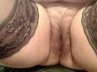 Mature Chubby Whore Masturbation I