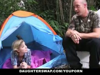 Daughterswap- Hot Teen Daughters Fucked Outdoors By Dads