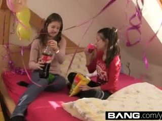 Bang.com:young Sexy Schoolgirls Bang It Out