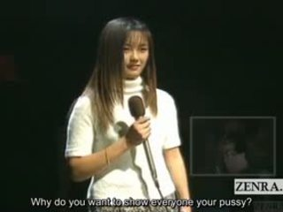 Subtitled Indecent And Brusque Japanese AV Star Auditions