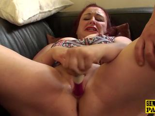 Throatfucked Chubby English Redhead gets Kinky: HD Porn 15