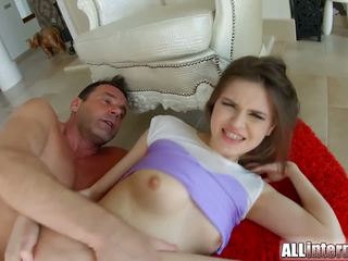 Allinternal cutie shows off her anal cumshot