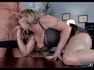 Bitchy Boss Shows Him who is in Charge, Porn f6