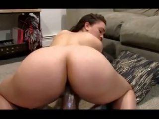 Big Booty Thot Fucks Big Dildo, Free Big Big Booty Porn Video