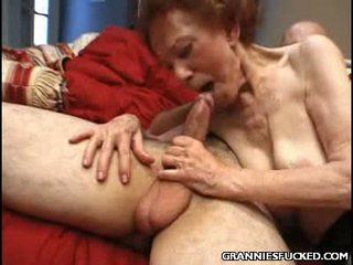 Hot Granny Threesome
