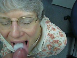 Oma Liebt Warmes Sperma Im Mund, Free Porn c7