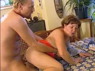 Horst Fucks His Chubby Hungarian Wife for Breakfast...
