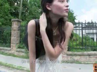 Hungarian Teen Elisabeth Fucked In Road