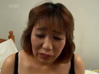 Asian Grany Kiriko Nakamoto Has Balled