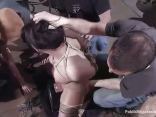 Sexy hot babe dominated