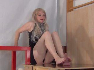 Ass Smothering Footjob, Free Blonde Porn Video 44