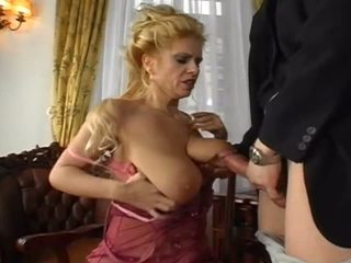 Busty Blonde 2: Big Natural Tits Porn Video 1b