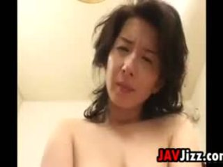 Japanese MILF Riding Some Hard Cock