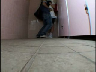 Young teen molested on schooltoilet