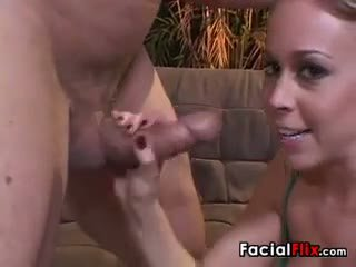 Facial For A Dirty 18 Year Old Whore