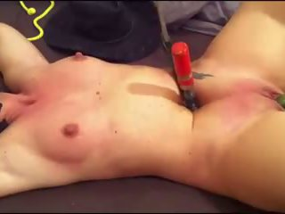 Nice Bdsm-session Nipple and Belly Pain Cunt Punches...