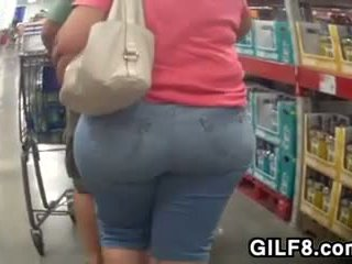 Granny With A Big Ass At Costco