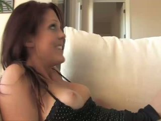 Lilah and Cadence amazing lesbian girls fingering pussy on the couch