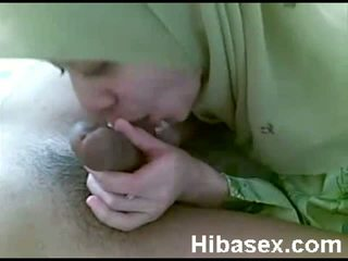 malay teen muslim wearing hijab blowjob her bf