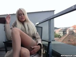 MAGMA FILM Beautiful Lena Love Cums Solo