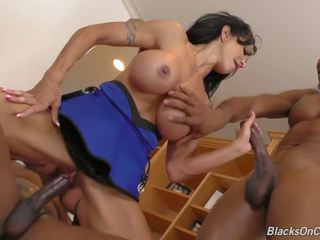 Big Ass Big Tits Mother Takes 2 Bbcs in all Holes: Porn 81