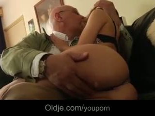 Teen Step Sister Horny For Fucking Ugly Grandpa