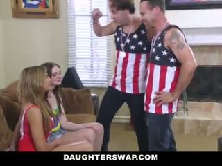 """DaughterSwap - Daughters Lose Bet and Fuck Dads <span class=""""duration"""">- 10 min</span>"""