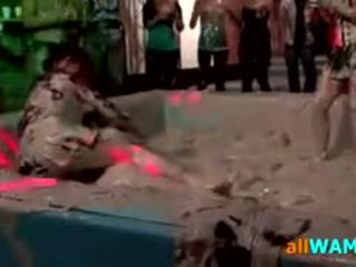 Nasty Muddy Catfight