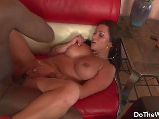 Hot MILF Pornstar Takes Big Black Dick for Husband: Porn ba