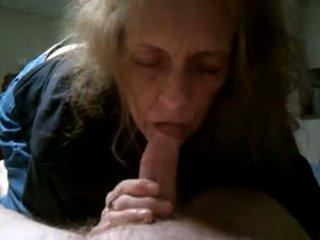 Grandma Cumming In Mouth