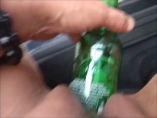 Bottles are for: Free Outdoor Porn Video 6b